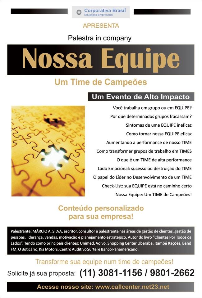 Trabalho Em Equipe Corporativa Brasil